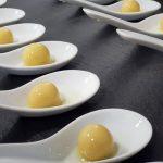Esferificaciones de oliva