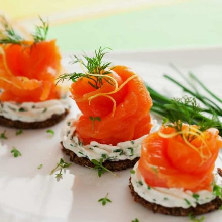 norwegian smoked salmon cream cheese canapes quick healthy recipes2