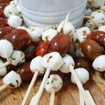 brochetas cherry